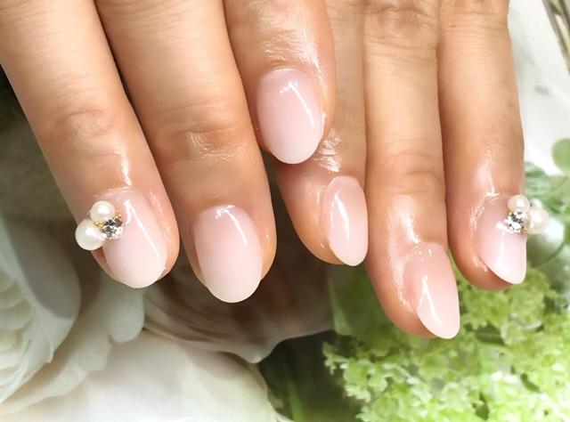 【ジェルネイル】剥がれない短い爪のエッジの塗り方