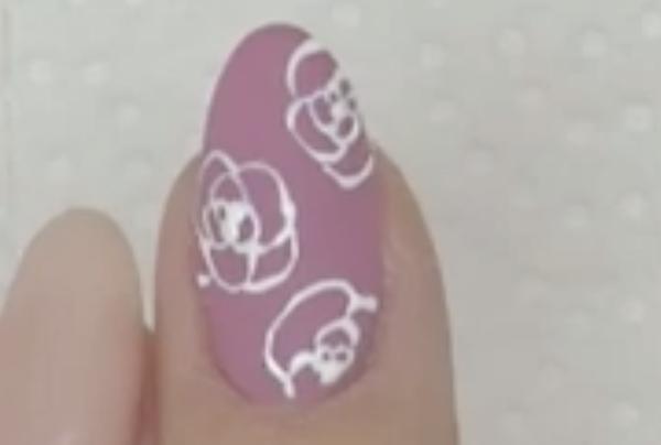 セルフジェルネイル【簡単】バラの書き方11選
