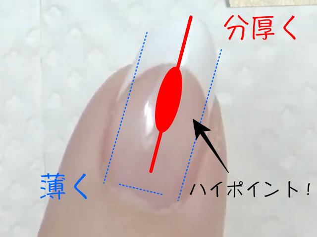 ジェルネイルの強度UP!ぷっくり美爪フォルムの作り方とコツ
