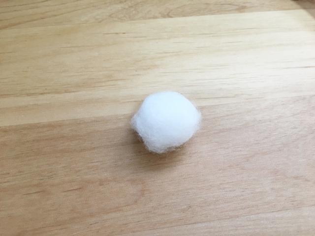 【検定】ネイル用コットンボールの使い方・作り方