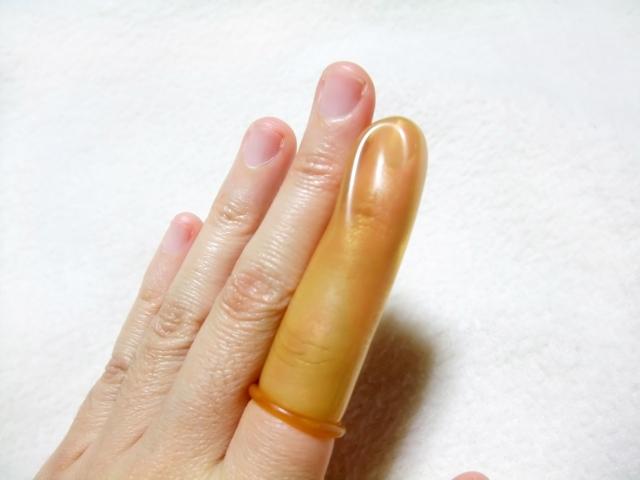 指サックでセルフジェルネイルオフ!やり方と注意点