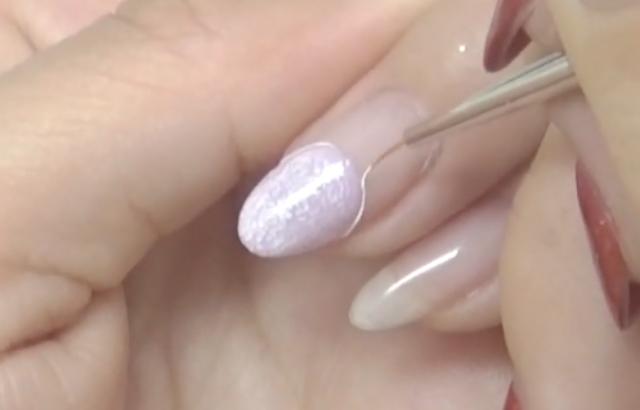 【人魚の鱗ネイル】セルフのやり方!1色でも可愛いお手軽貝殻アート
