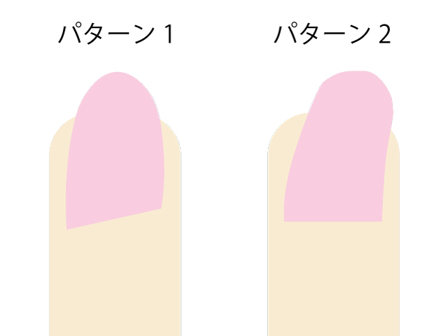 【爪が曲がっている】ネイルの謎!まっすぐになるファイルのかけ方